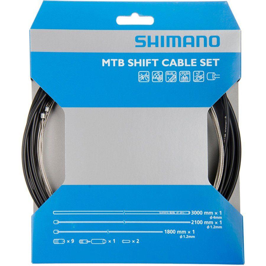 Shimano Schaltung »OT-SP41 Schaltzugset MTB Edelstahl«
