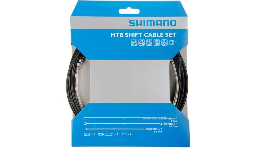 Shimano Schaltung »OT-41SP Schaltzugset MTB Edelstahl«