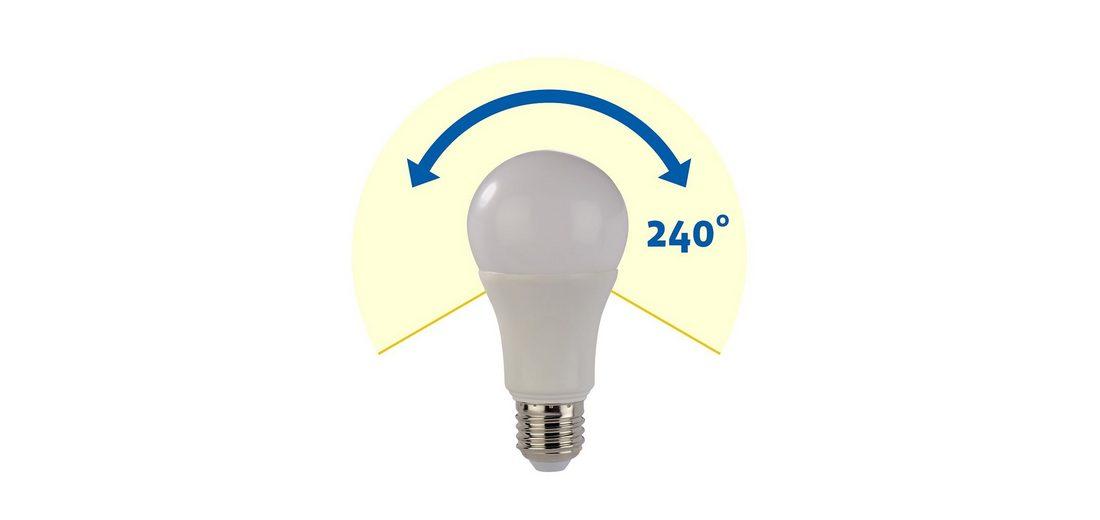 Xavax High Line LED-Lampe, 8,5W, Glühlampenform, E27, dimmbar
