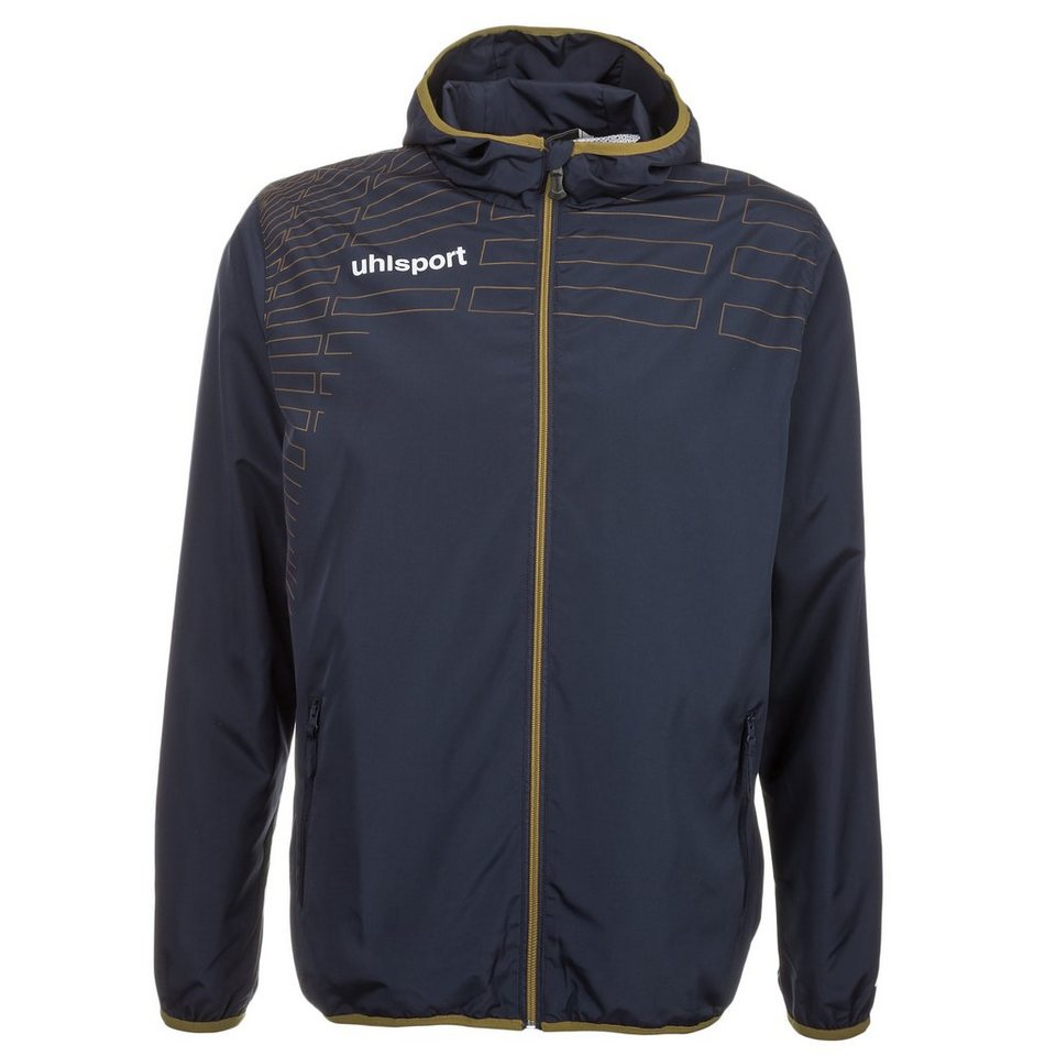 UHLSPORT Match Präsentationsjacke Kinder in schwarz/gold