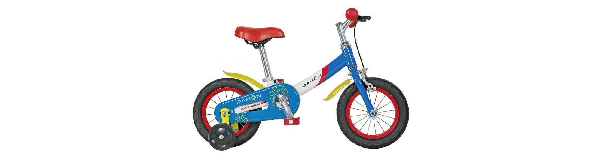 Kinderfahrrad, 12 Zoll, 1 Gang, blau-rot-weiss, »Kids Bike«, Dahon