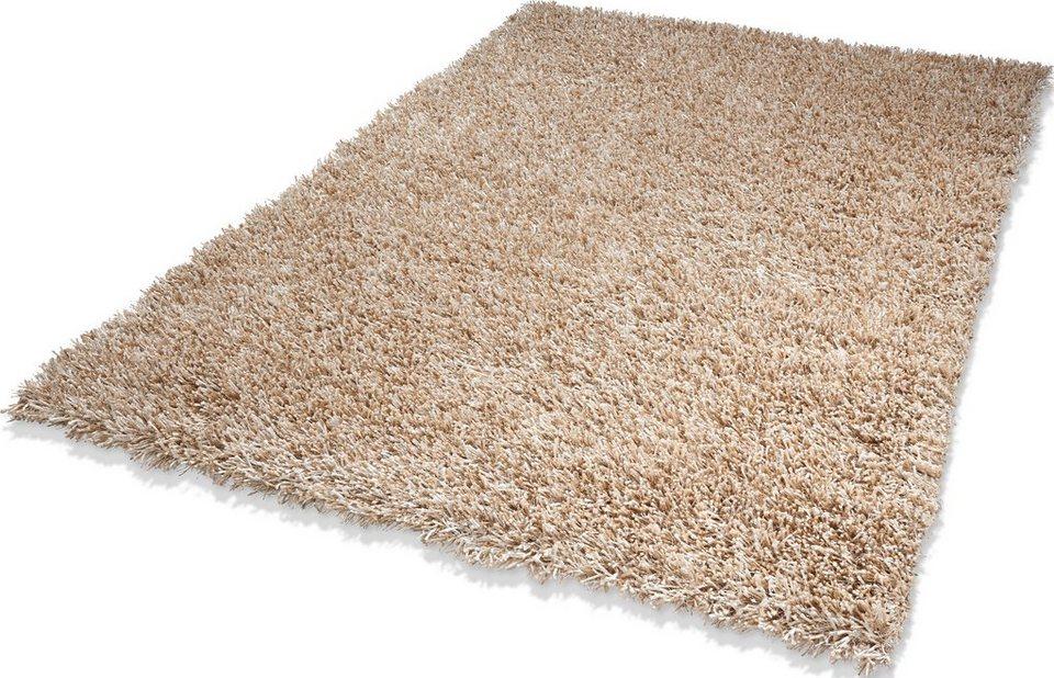 Teppich, Dekowe, »Corado«, Hochflor, Höhe 40 mm, Wunschmaß in creme