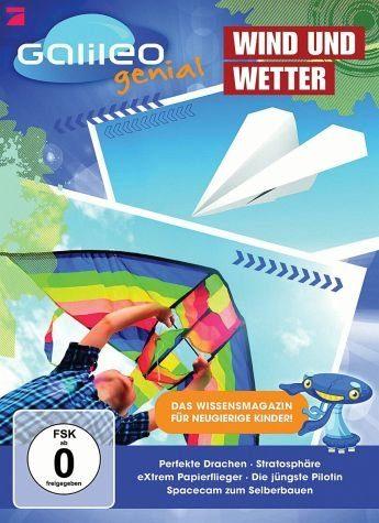 DVD »Galileo genial - Wind und Wetter«