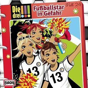 Audio CD »Die drei !!!: Fußballstar in Gefahr / Die drei...«