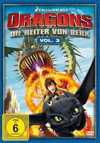 DVD »Dragons - Die Reiter von Berk, Vol. 3«