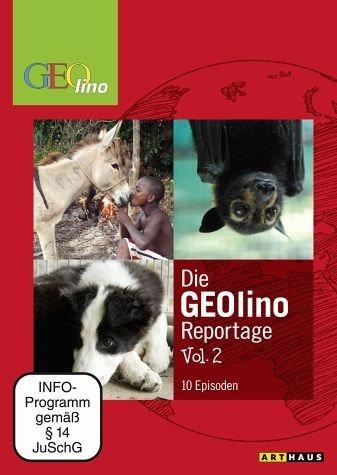 DVD »Die Geolino Reportage, Vol. 2, 10 Episoden«