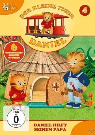 DVD »Der kleine Tiger Daniel - Daniel hilft seinem...«