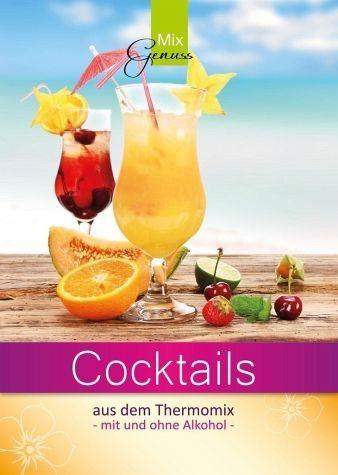 Broschiertes Buch »Cocktails aus dem Thermomix«