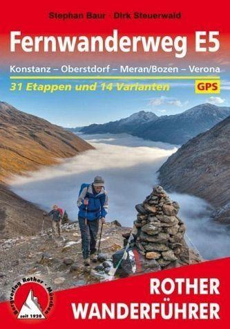 Broschiertes Buch »Fernwanderweg E5 Konstanz – Oberstdorf –...«