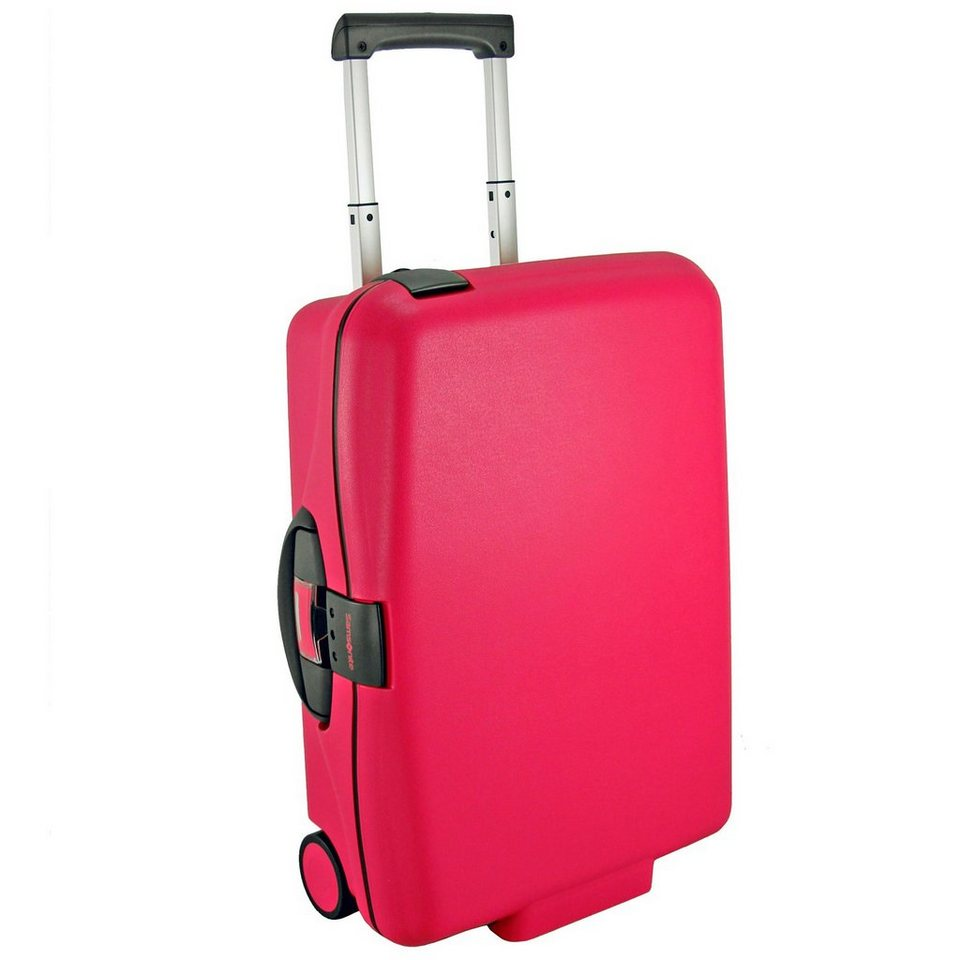 Samsonite PP Cabin Collection Kabinentrolley Upright 2-Rollen 55 cm in bright pink