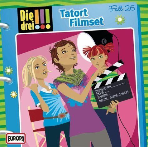 Audio CD »Die drei !!!: Tatort Filmset / Die drei...«