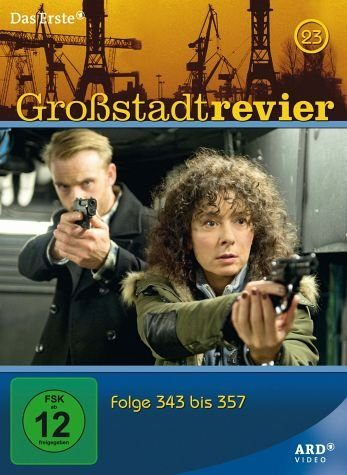 DVD »Großstadtrevier - Box 23, Folge 343 bis 358 (4...«