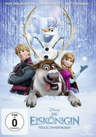 DVD »Die Eiskönigin - Völlig unverfroren«