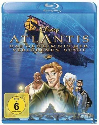 Blu-ray »Atlantis - Das Geheimnis der verlorenen Stadt«