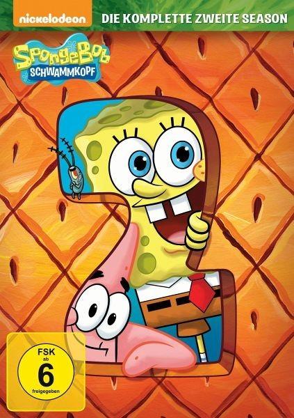 DVD »SpongeBob Schwammkopf - Die komplette zweite...«