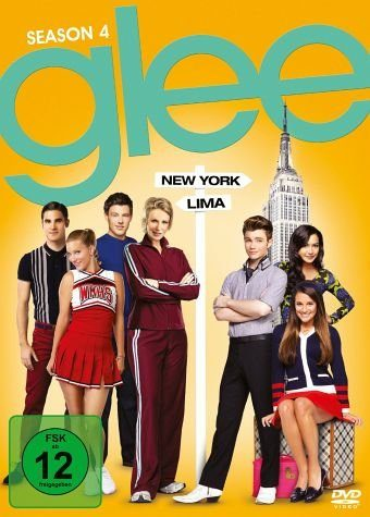 DVD »Glee - Season 4 (6 Discs)«