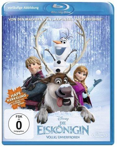 Blu-ray »Die Eiskönigin - Völlig unverfroren«