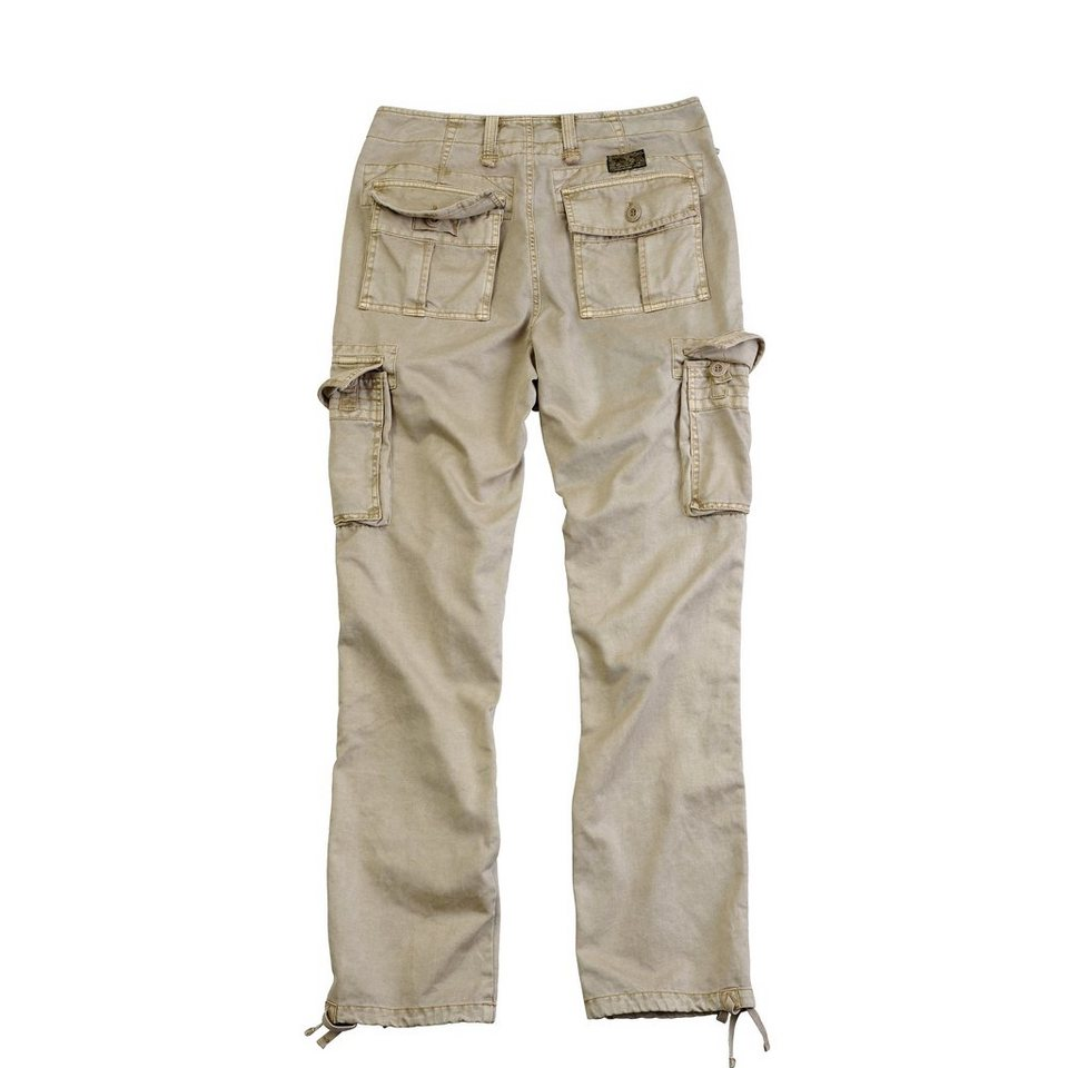 ALPHA INDUSTRIES Hose »Landing Pant VF« in wsh. khaki