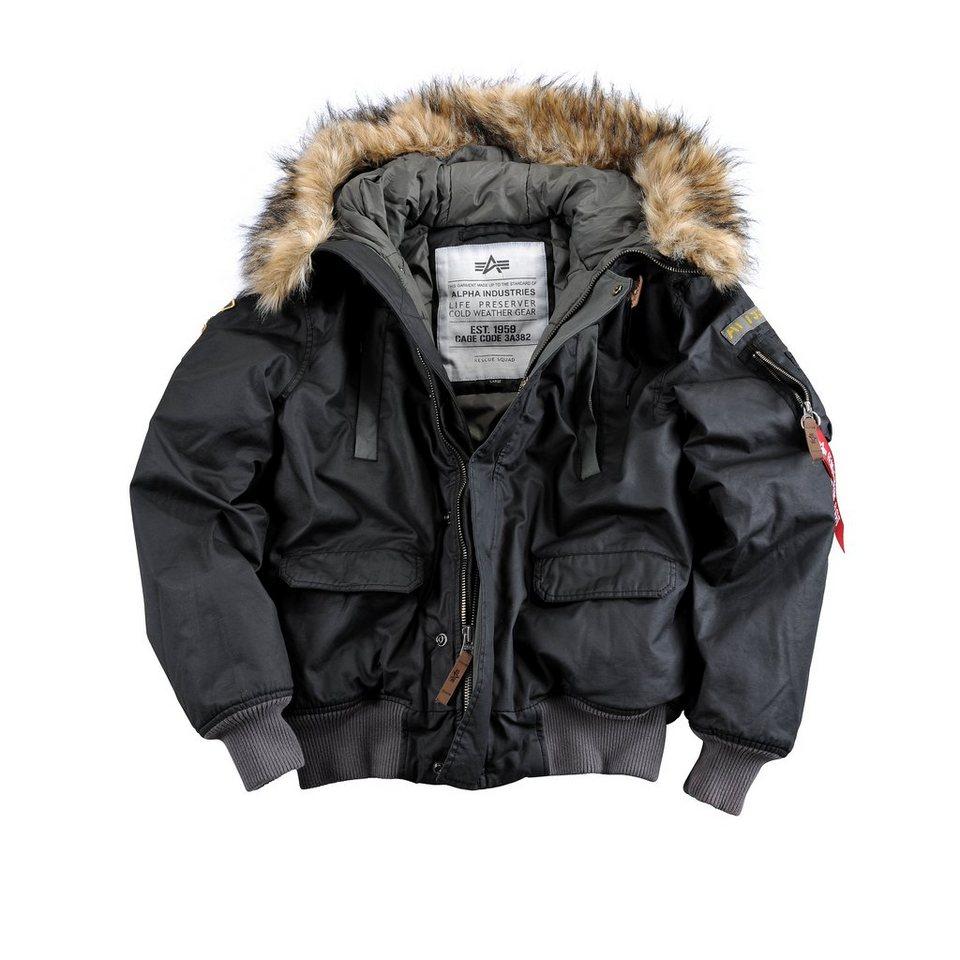 ALPHA INDUSTRIES Jacke »Mountain Jacket« in black