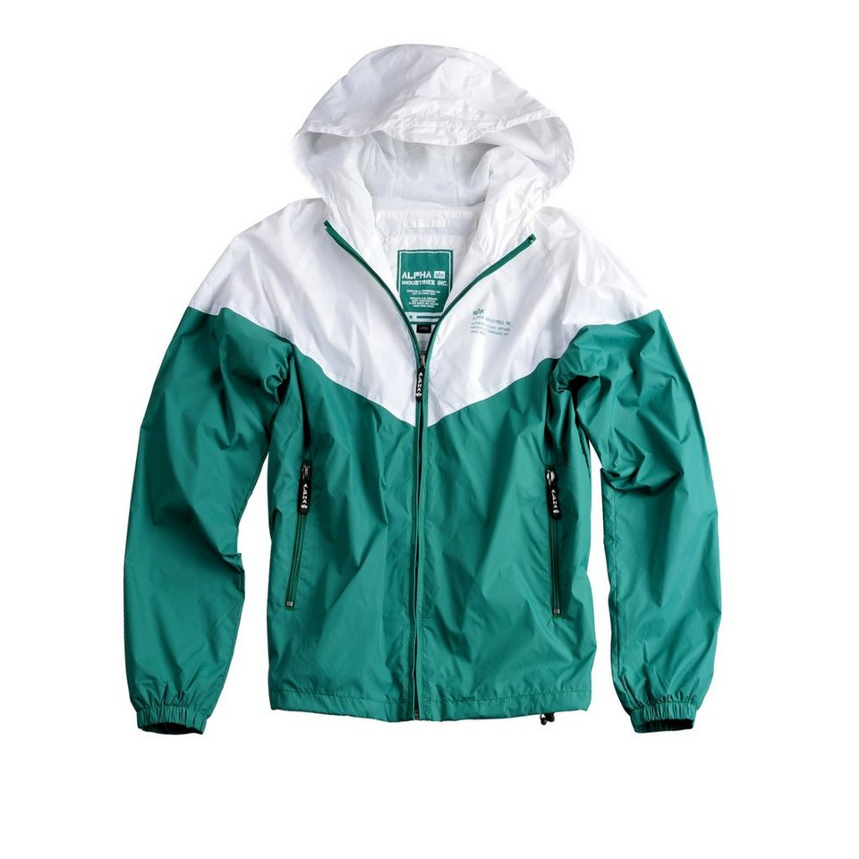 ALPHA INDUSTRIES Jacke »Helix II« in green/white