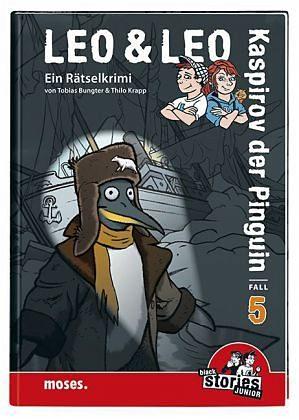 Gebundenes Buch »Kaspirov der Pinguin / Leo & Leo Bd.5«