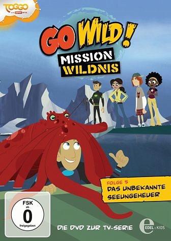 DVD »Go Wild! Mission Wildnis - Folge 5: Das...«