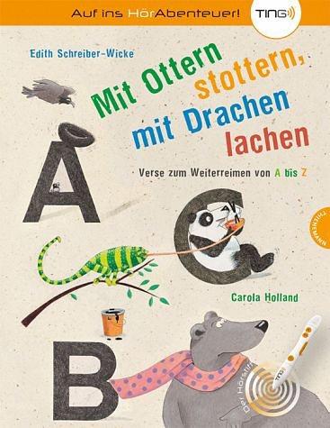 Gebundenes Buch »Mit Ottern stottern, mit Drachen lachen«