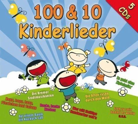 Audio CD »Diverse: 100 & 10 Kinderlieder«