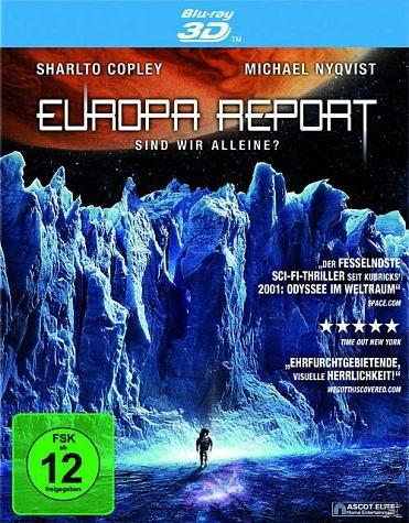 Blu-ray »Europa Report - Sind wir alleine? (Blu-ray 3D)«