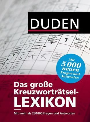 Gebundenes Buch »Duden - Das große Kreuzworträtsel-Lexikon«