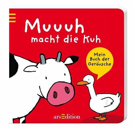 Buch mit Papp-Einband »Muuuh macht die Kuh«