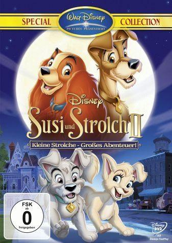 DVD »Susi und Strolch II: Kleine Strolche - Großes...«