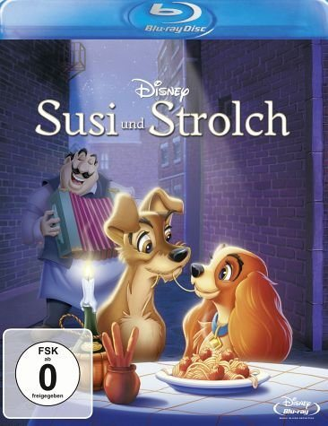 Blu-ray »Susi und Strolch«