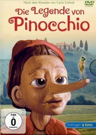 DVD »Die Legende von Pinocchio (nur für den...«