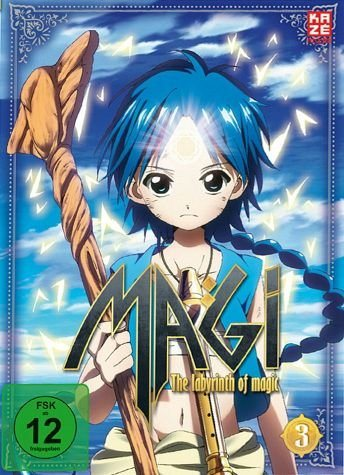DVD »Magi: The Labyrinth of Magic, Box 3 (2 Discs)«