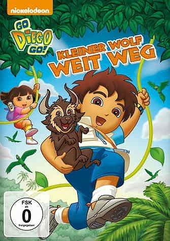 DVD »Go, Diego! Go! - Kleiner Wolf weit weg«