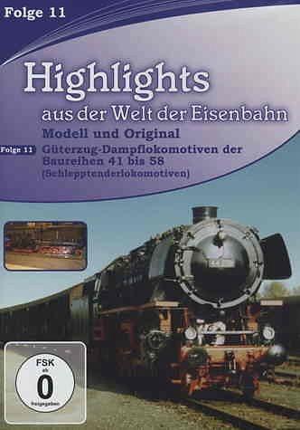 DVD »Highlights aus der Welt der Eisenbahn - Vol. 11«