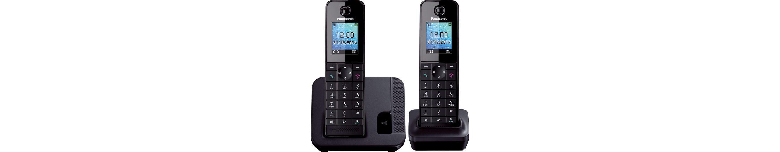 Panasonic KX-TGH212 DUO Schnurloses DECT Telefon-Set