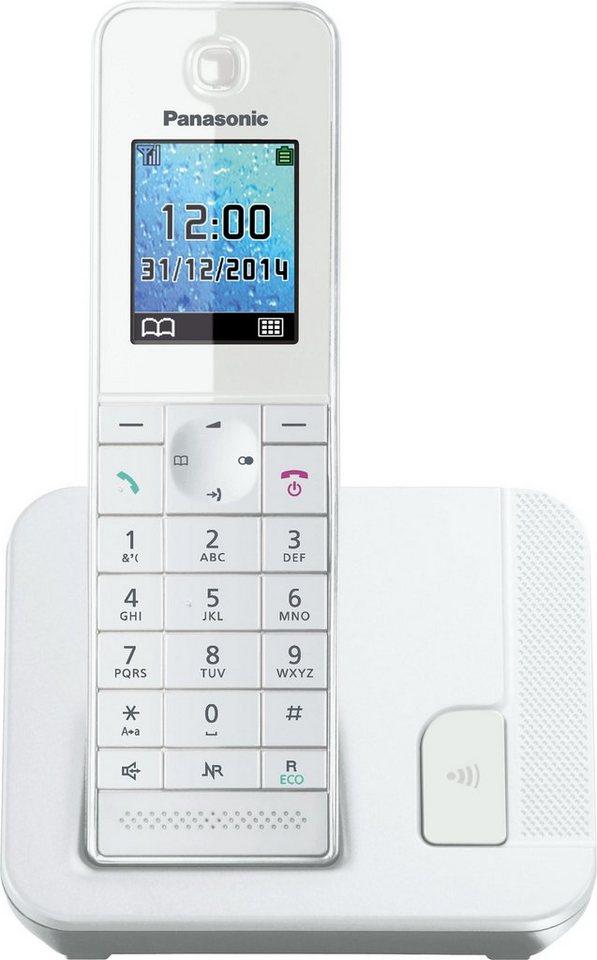 Panasonic KX-TGH210 Schnurloses DECT Telefon in weiß