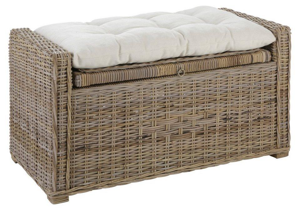 sitztruhe home affaire sch nerempfang kaufen otto. Black Bedroom Furniture Sets. Home Design Ideas