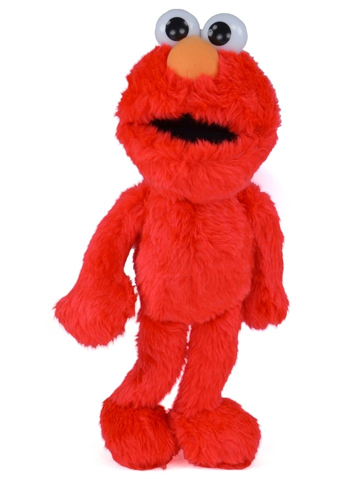 Plüschfigur, »Elmo«, United Labels in rot