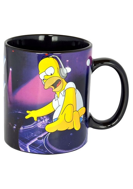 Tassen, »The Simpsons - DJ Homey«, United Labels (2tlg.)