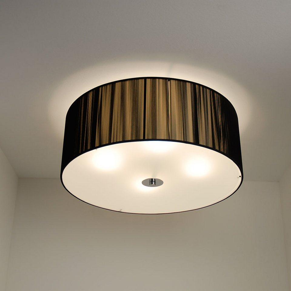 s luce led deckenleuchte twine 30 schwarz otto. Black Bedroom Furniture Sets. Home Design Ideas