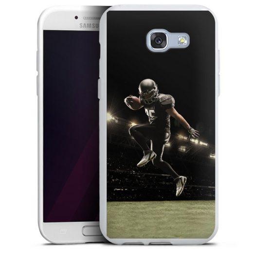 DeinDesign Handyhülle »Football spotsman player« Samsung Galaxy A5 Duos (2017), Hülle Fanartikel American Football Fußballer