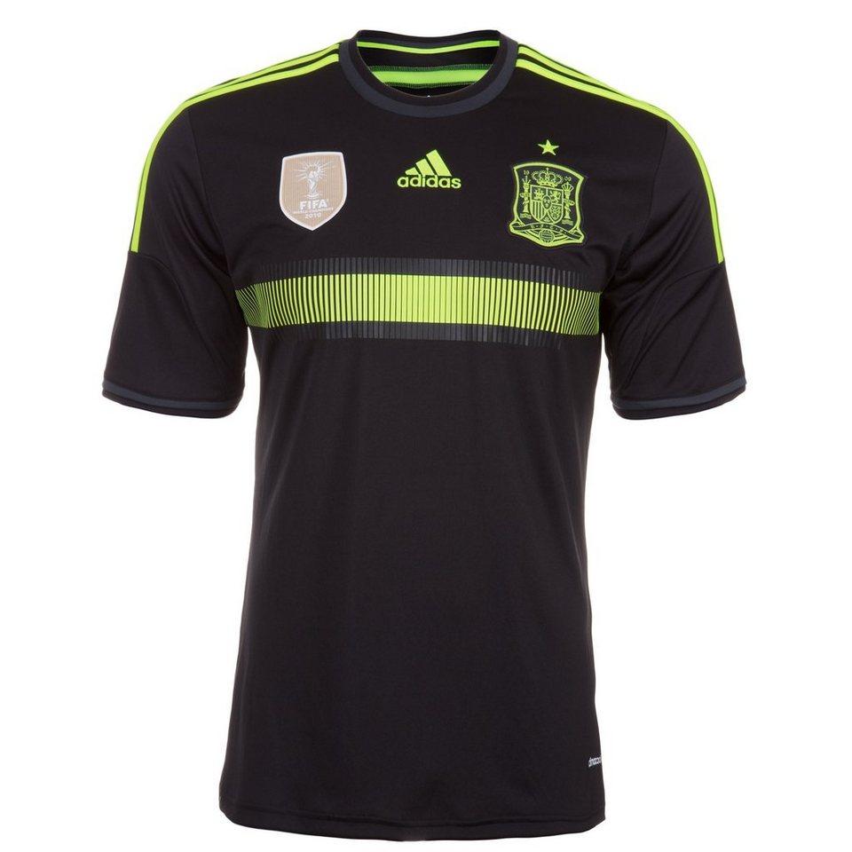 adidas Performance Spanien Trikot Away WM 2014 Herren in schwarz / gelb