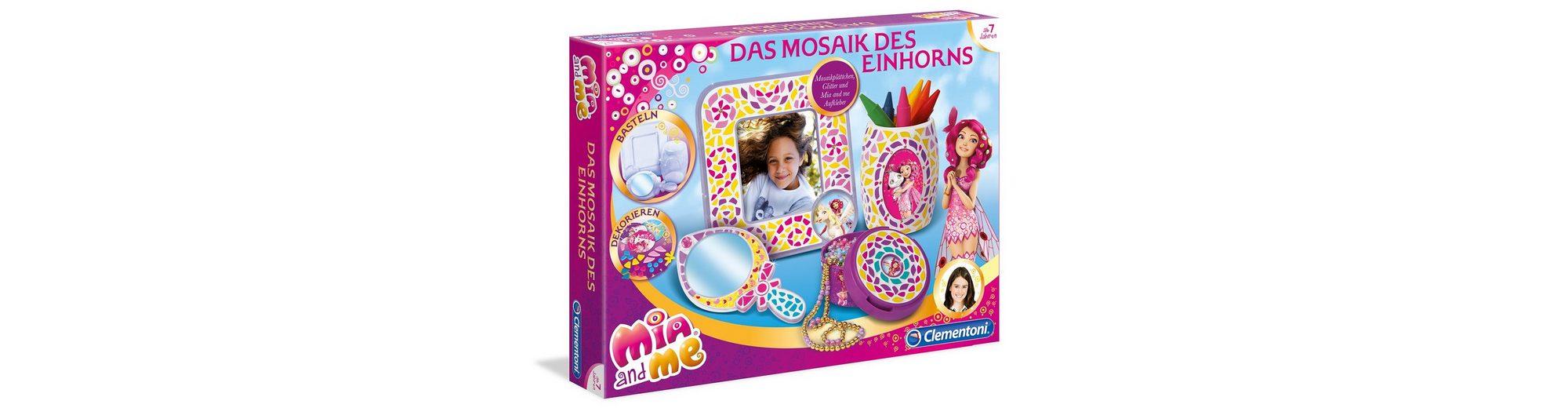 Kreativ-Set, »Mia & Me - Das Mosaik des Einhorns«, Clementoni