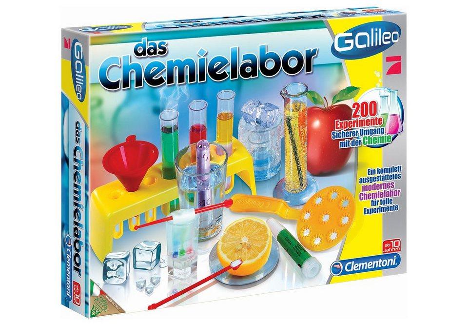 Experimentier-Set, »Galileo - Das Chemielabor«, Clementoni