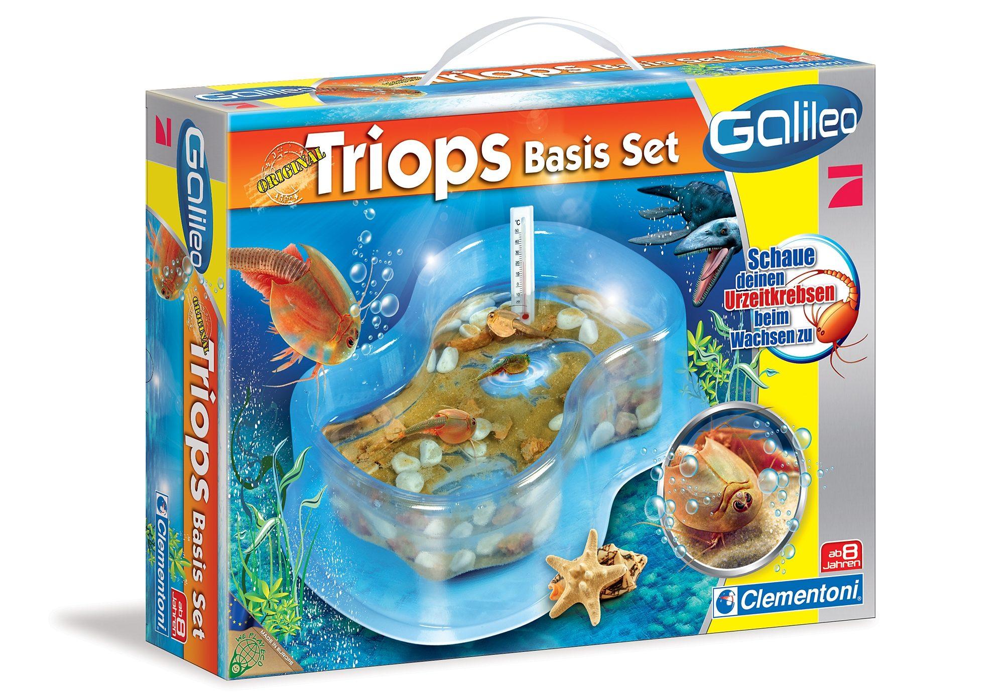 Experimentier-Set, »Galileo - Triops«, Clementoni