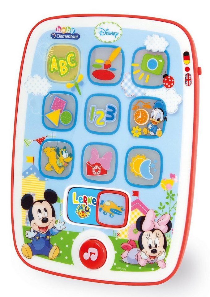 Lernspielzeug, »Baby Tablet Mickey«, Clementoni