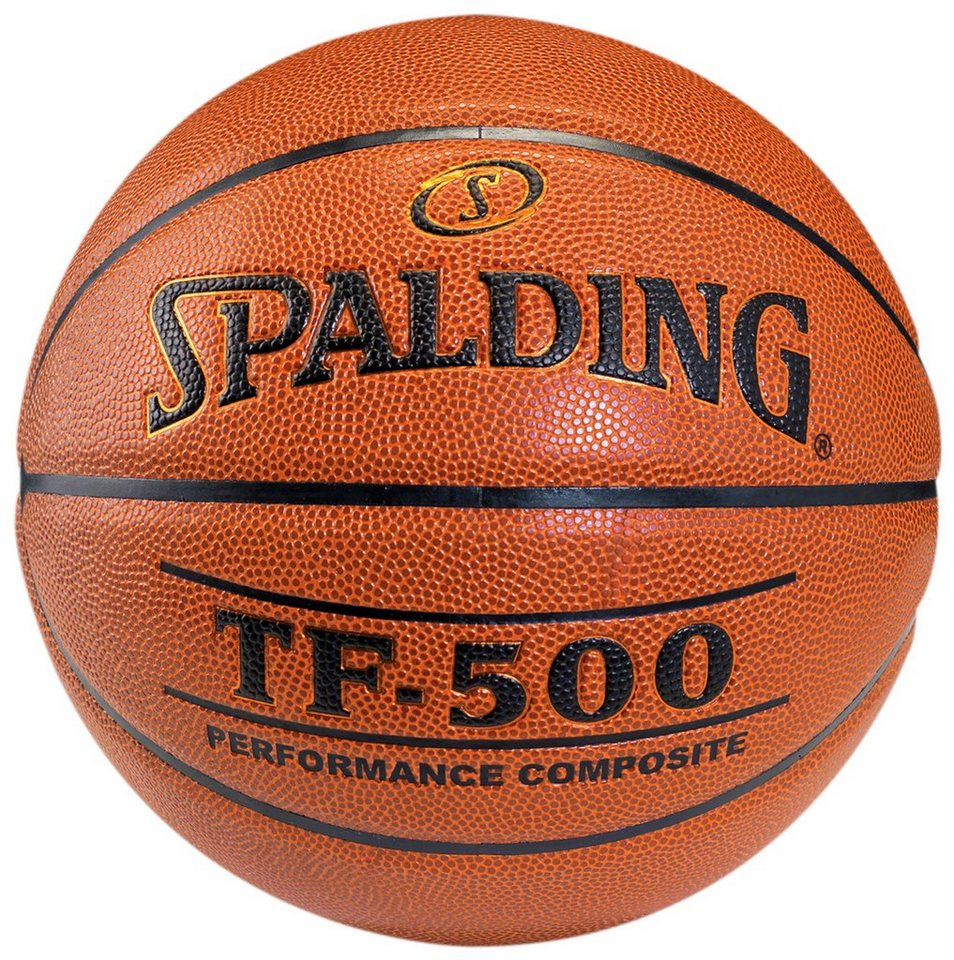 SPALDING TF500 Indoor Basketball in braun